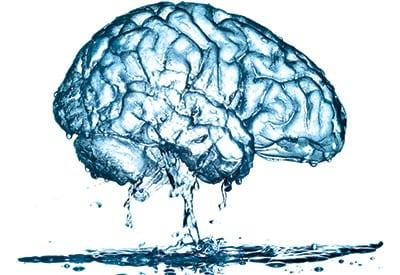 benefici dell'acqua sul cervello