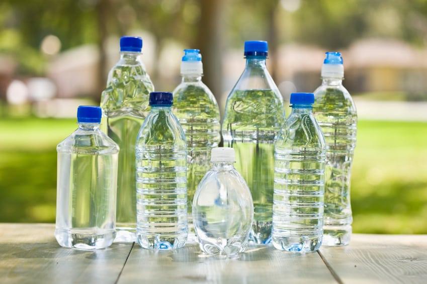 Imbottigliamento dell'acqua minerale