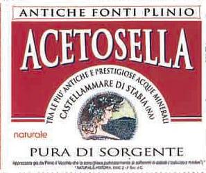 Acqua Acetosella