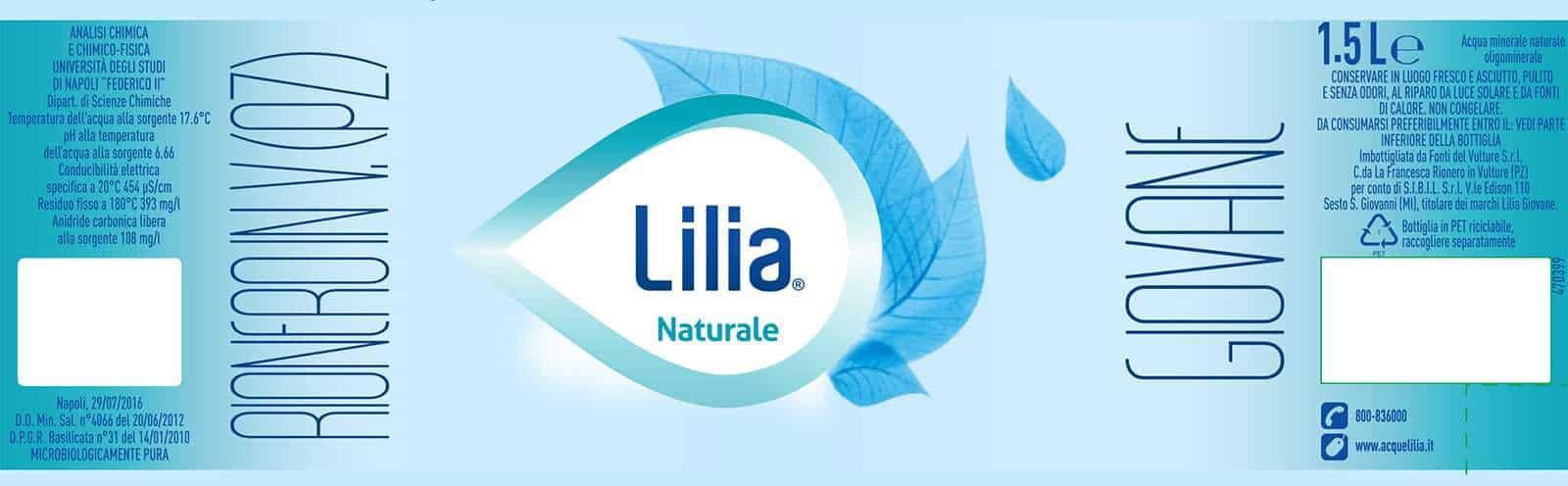 Acqua Lilia Giovane