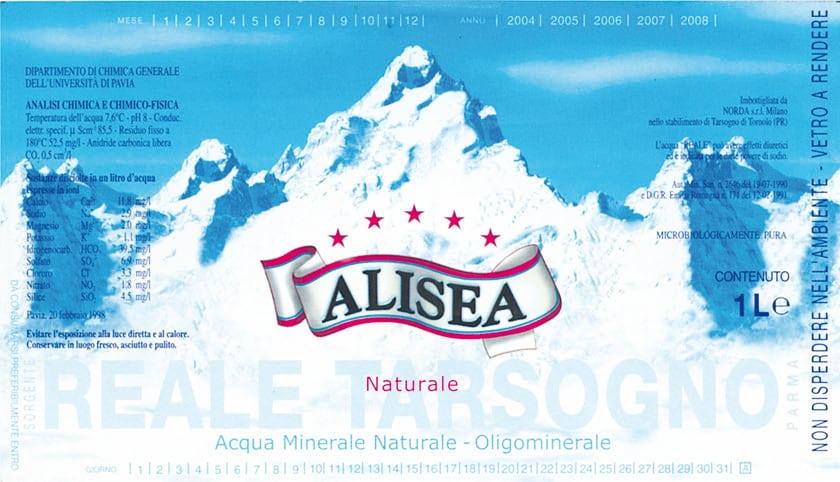 Acqua Alisea – Reale Tarsogno