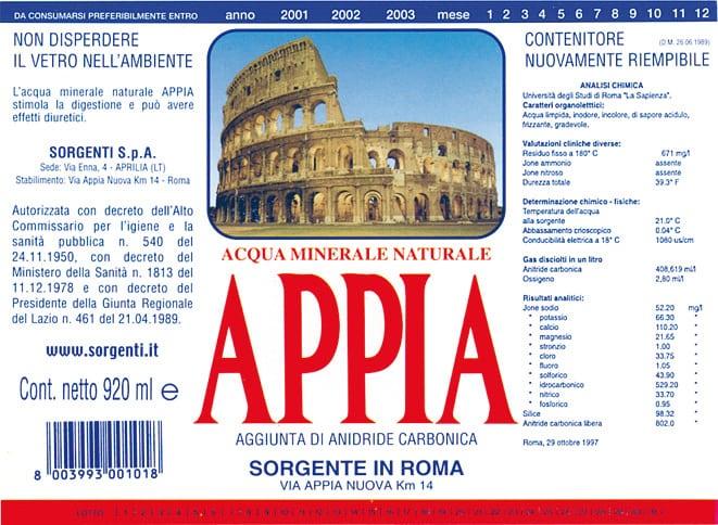 Acqua Appia