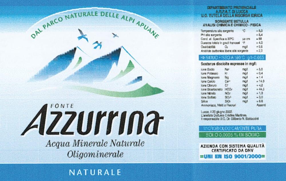 Acqua Azzurrina