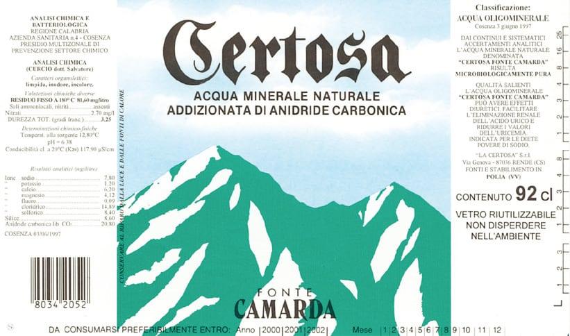 Acqua Certosa – Fonte Camarda
