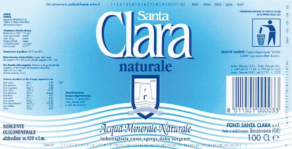 Acqua Santa Clara