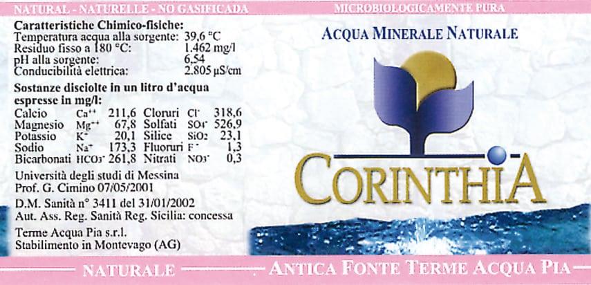 Acqua Corinthia