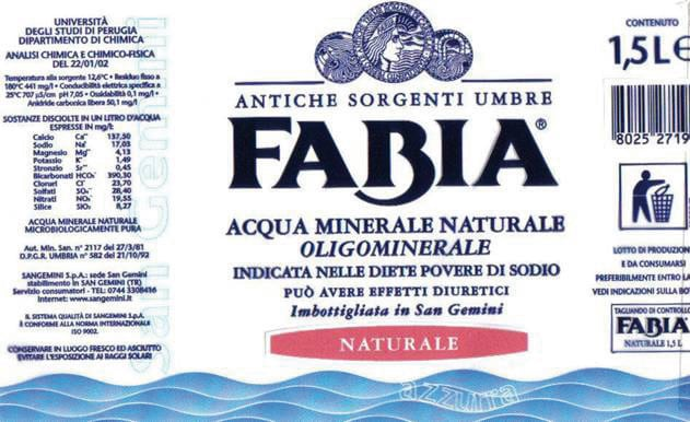 Acqua Fabia