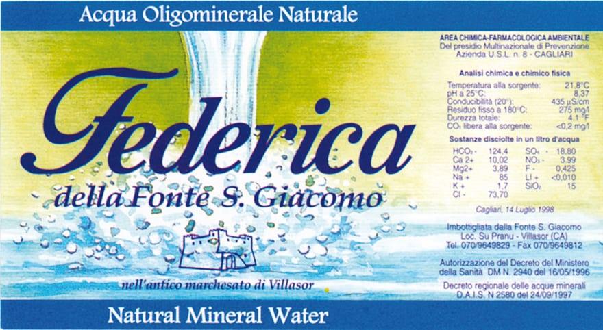 Acqua Federica
