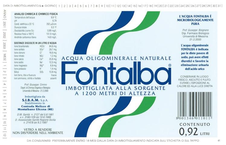 Acqua Fontalba