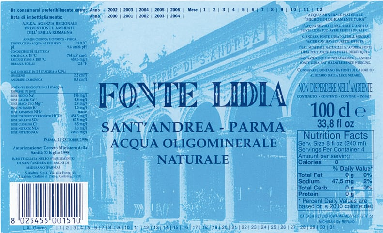 Acqua Fonte Lidia