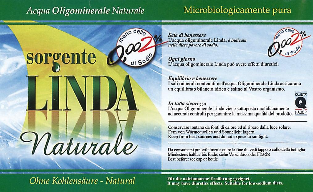 Acqua Fonte Linda