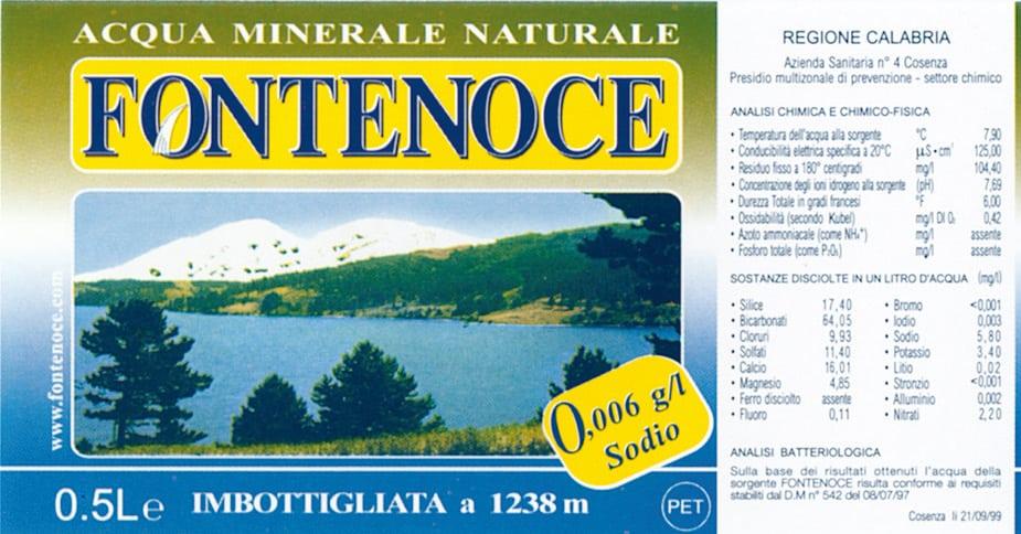 Acqua Fontenoce