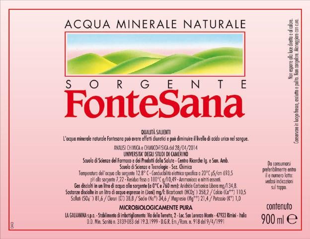Acqua FonteSana