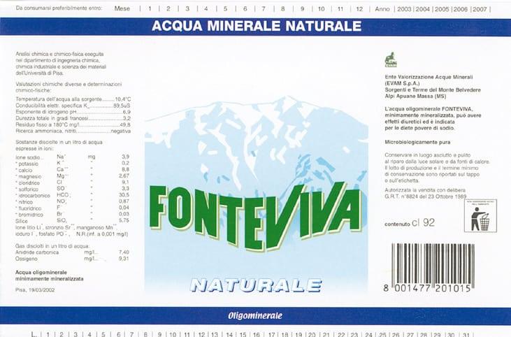 Acqua Fonteviva