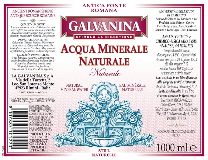 Acqua Galvanina