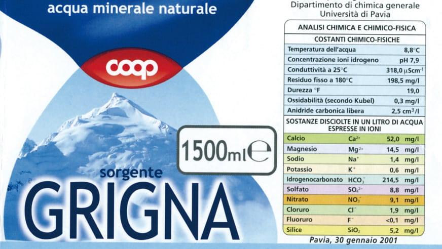 Acqua Grigna