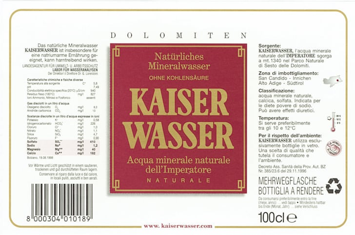 Acqua Kaiser Wasser