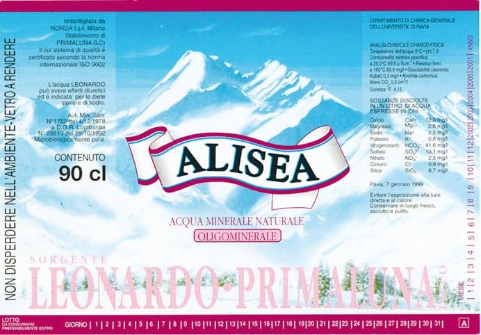 Acqua Alisea Leonardo