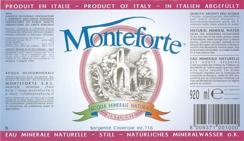 Acqua Monteforte