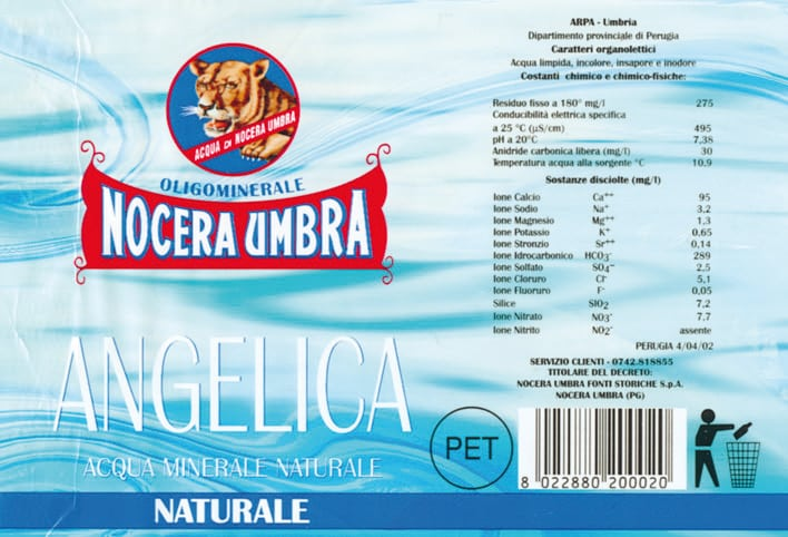 Acqua Nocera Umbra Angelica