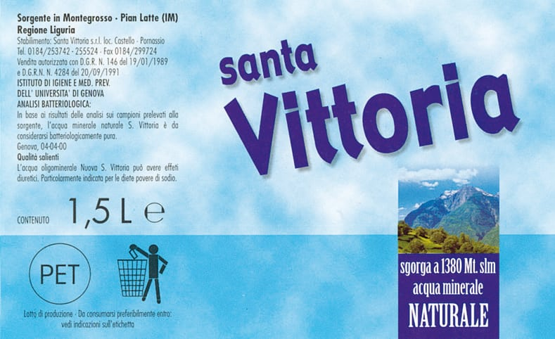 Acqua Nuova Santa Vittoria