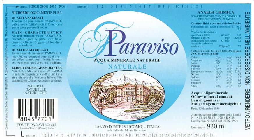 Acqua Paraviso