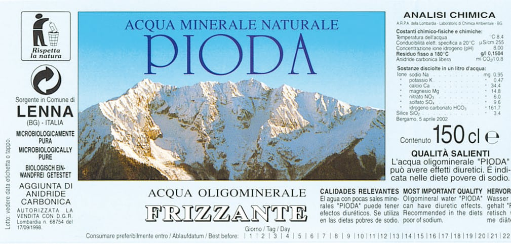 Acqua Pioda