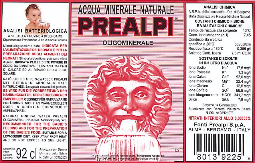 Acqua Prealpi