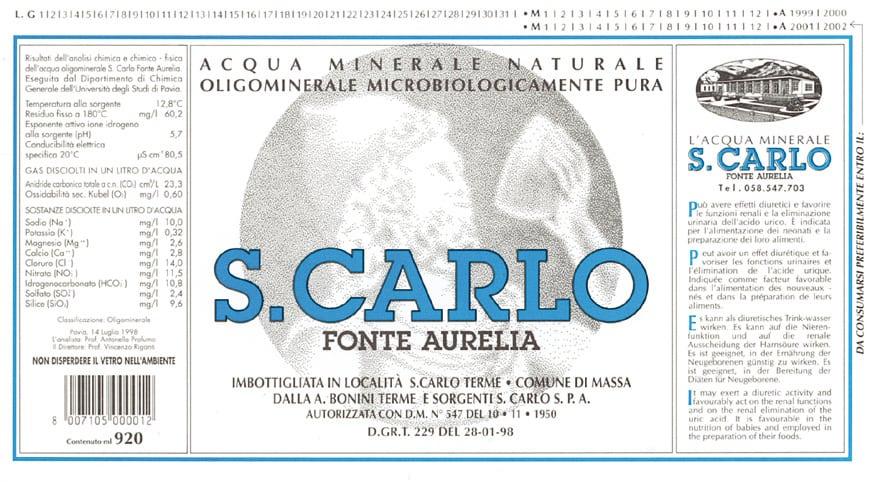 Acqua San Carlo