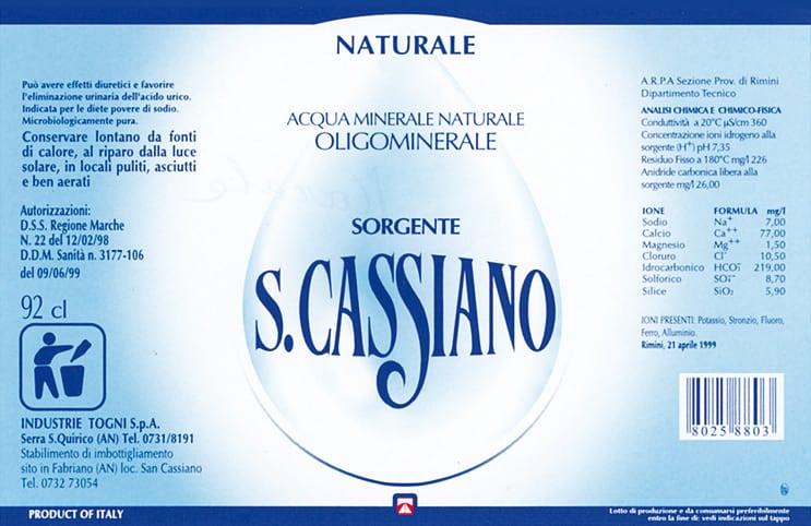 Acqua San Cassiano