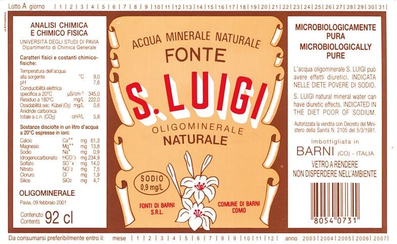 Acqua S. Luigi