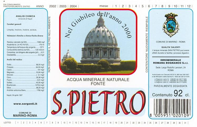 Acqua San Pietro