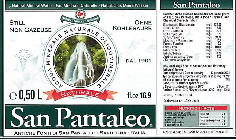 Acqua San Pantaleo