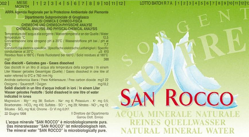 Acqua San Rocco