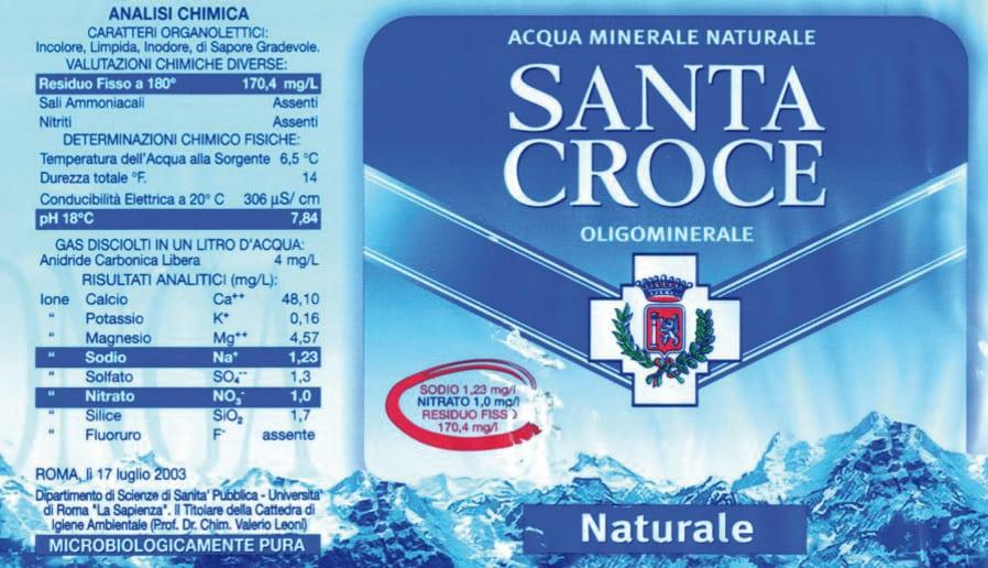 Acqua Santa Croce