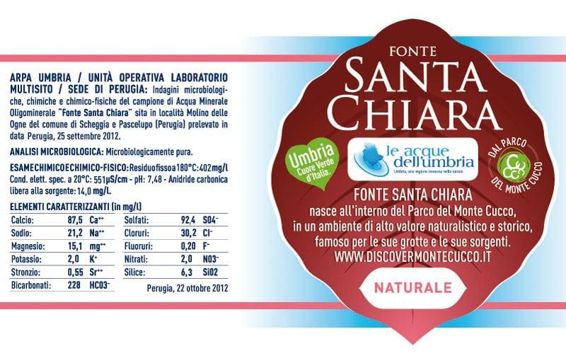 Acqua Santa Chiara