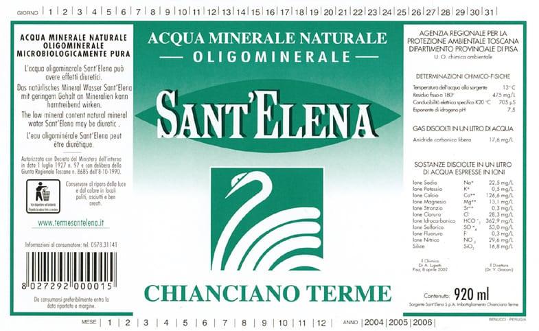 Acqua Sant'Elena