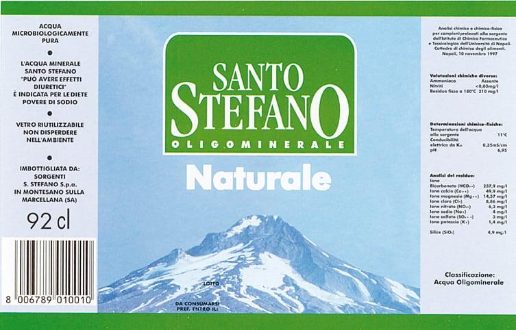 Acqua Santo Stefano