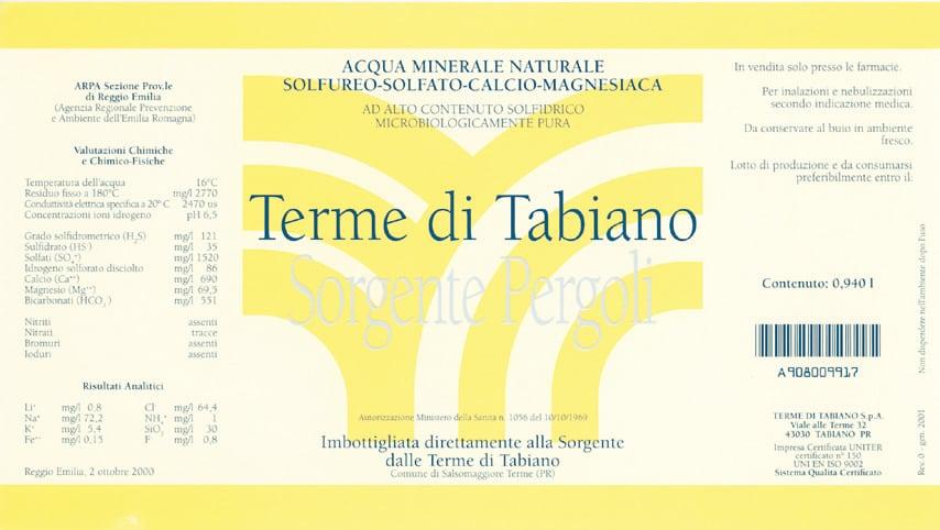 Acqua Terme di Tabiano – Sorgente Pergoli