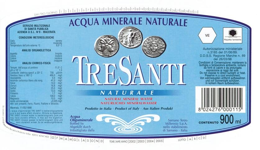 Acqua Tre Santi