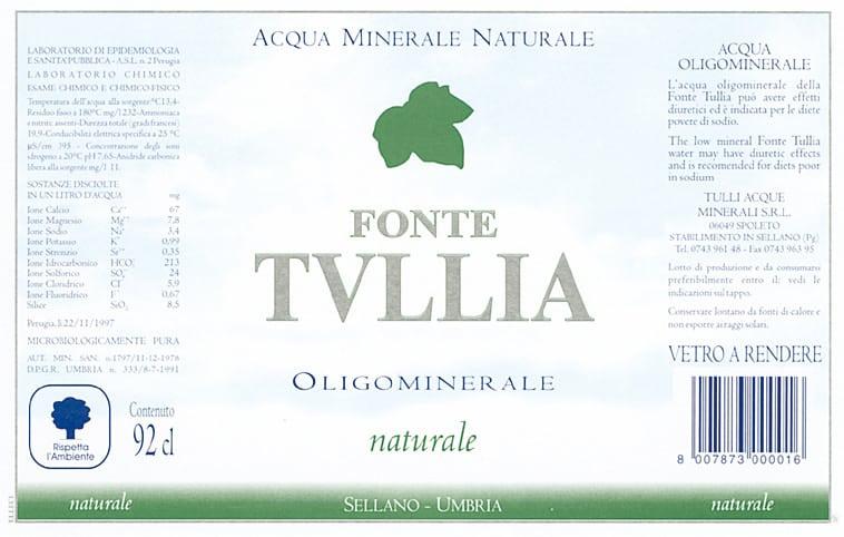 Acqua Tullia