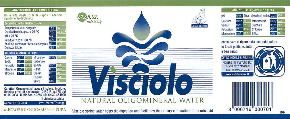 Acqua Visciolo