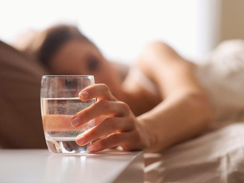 disturbo del sonno acqua da bere