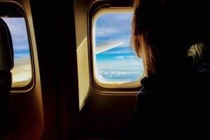 Bere acqua in aereo