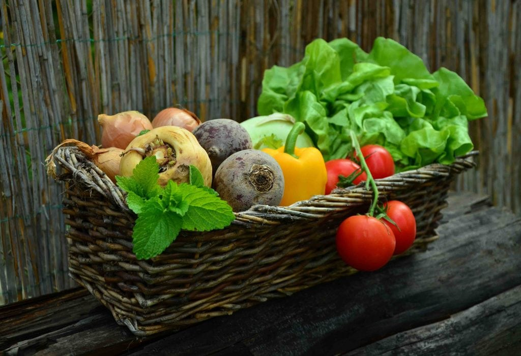 Idratare la pelle, dieta sana