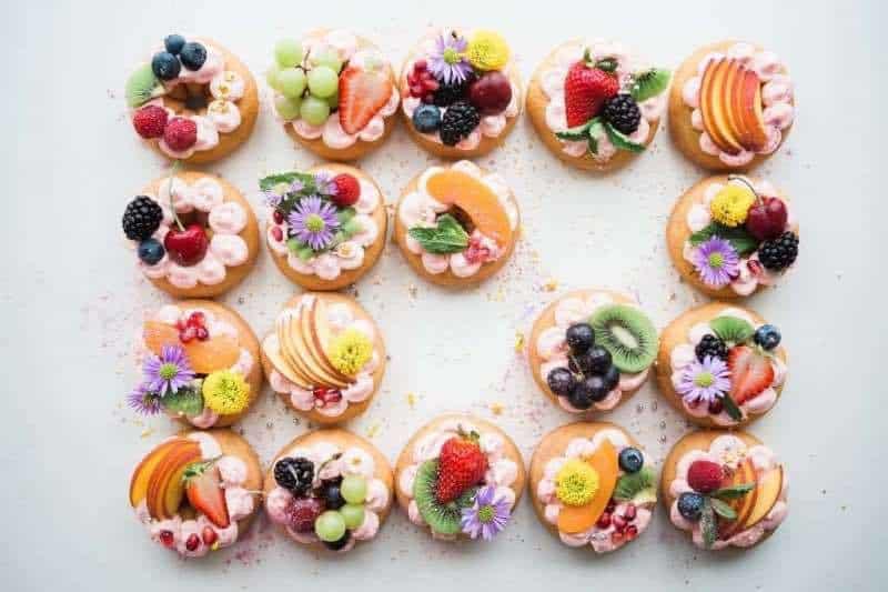 abbinamento acqua e cibo dolci