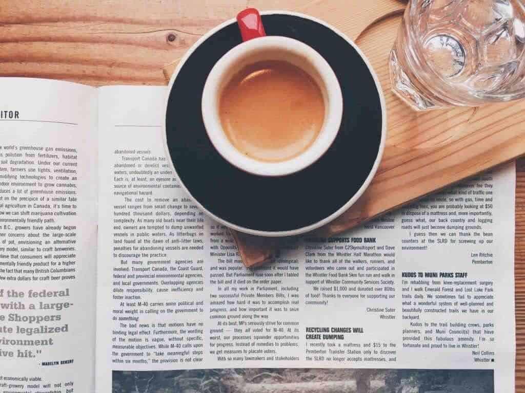 Qual è l'acqua migliore per fare il caffè