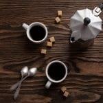 acqua per fare il caffè