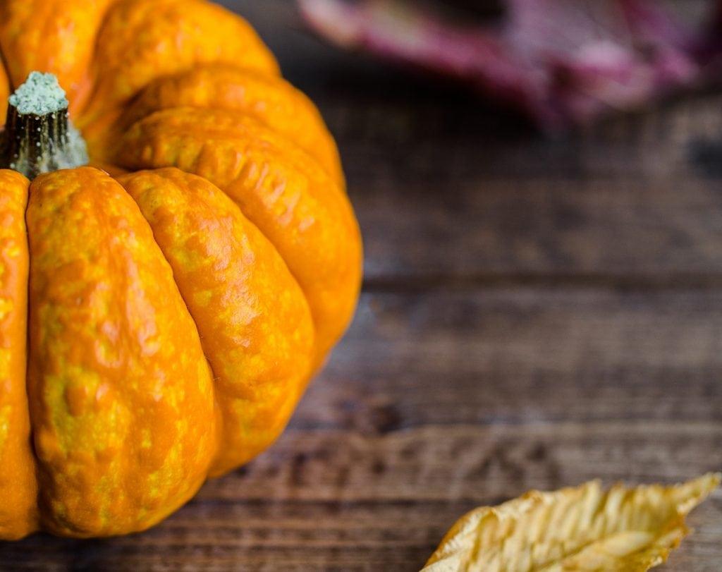 Frutta e verdura di stagione spesa di ottobre zucca