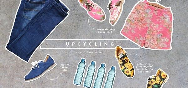 abiti fatti con bottiglie di plastica